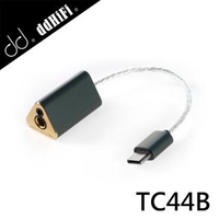 【ddHiFi】USB DAC 2.5/4.4mm母轉Type-C公雙平衡解碼線(TC44B)