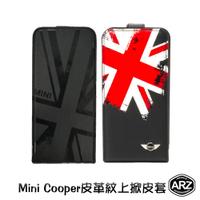 Mini Cooper PU皮革上掀皮套 iPhone SE 5 5s 掀蓋皮套 皮革手機殼 手機殼 手機保護套 ARZ