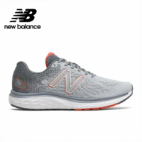 【NEW BALANCE】NB 緩震運動跑鞋_男鞋_灰色_M680LG7-4E楦