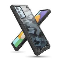 【Rearth】三星 Galaxy A52 Ringke Fusion X 迷彩抗震保護殼