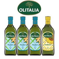 【Olitalia奧利塔】玄米油+葵花油料理組(1000mlx 4瓶)