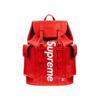 【紐約范特西】預購 LV x Supreme Christopher Backpack Epi PM Red後背包