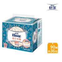 【週期購】舒潔頂級四層喀什米爾抽取衛生紙90抽x6包6串/箱