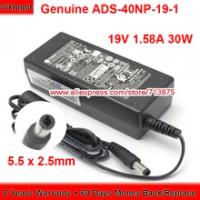 ของแท้30วัตต์ ADS-40NP-19-1 19030E Ac Adapter 19V 1.58A สำหรับ Hp 24F MONITOR 22EP 23ER จอแสดงผลแหล่งจ่ายไฟ