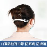 口罩掛鉤/口罩防勒神器 戴口罩神器護耳防勒調節帶減壓掛耳頭戴式防滑卡扣大小可調整掛鉤『XY22212』【免運】