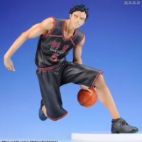 ญี่ปุ่น Anime 18Cm Kuroko ของบาสเกตบอล Kuroko ไม่มีตะกร้า Power Forward Aomine Daiki สีดำชุดกีฬาเด็กรุ่น PVC action Figure