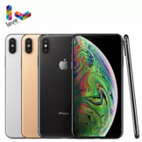 Apple iPhone XS Max Mobile Phone 6.5inch A12 Bionic 4GB RAM 64GB/256GB ROM Hexa Core 12MP NFC 4G LTE Original iOS Cellphone