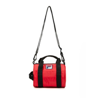 【FILA】圓筒包 斜背包 小型潮流單肩包-紅(BMV-1503-RD)