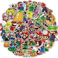 10/25/50PCS การ์ตูนตัวอักษร Super Mario สติ๊กเกอร์ตกแต่ง Diy แล็ปท็อปกระเป๋าเดินทางหมวกนิรภัยถ้วยน้ำตู้เย...