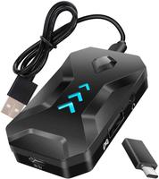 【日本代購】適配器鍵盤/滑鼠連接適配器耳機功能語音通信遊戲轉換器 Nintendo Switch 相容