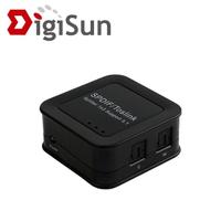 【DigiSun】AU313 SPDIF/Toslink 光纖數位音訊一進三出分配器