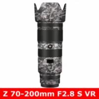 สำหรับ Nikon Z 70-200มม.F2.8 S VR Anti-Scratch เลนส์กล้องสติกเกอร์ Coat Wrap ป้องกันฟิล์ม body Protector ผิว Z70-200
