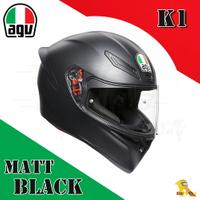 ~任我行騎士部品~AGV K1 亞洲版日規 單鏡片 全罩 安全帽 消光黑 #MATT BLACK