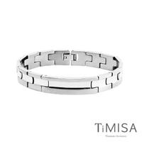 【TiMISA】原始晶燦 純鈦鍺手鍊(原色)