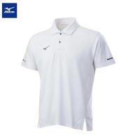 【MIZUNO 美津濃】男款短袖POLO衫 32TA101601(白)(POLO衫)