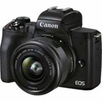 New Canon EOS M50 Mark II Mirrorless Digital Camera with 15-45mm Lens Black