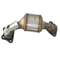 1 Set Asli Knalpot Mobil Keramik Catalytic Converter untuk LaCrosse 3.0L Euro 3 Keramik Katalis Stainless Steel Kucing