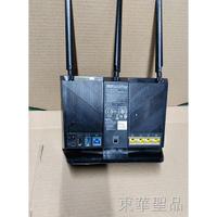 千兆網路分享器 極速網路分享器 國際品牌 正品保障原裝包好ASUS華碩RT-AC68U有線千兆無線雙頻1900M