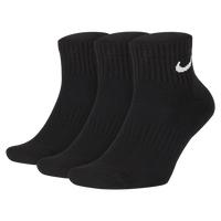 [ALPHA] NIKE EVERYDAY CUSHION ANKLE 3PK SX7667-010 3雙入 厚底訓練短襪