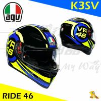 任我行騎士部品 AGV K3SV RIDE 46 全罩 安全帽 內墨鏡 除霧片 VR46 ROSSI K3-SV