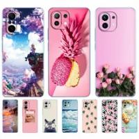 For xiaomi Mi 11 | Mi 11 Lite 5G | Mi 11i | Mi11 Lite 4G Case Back Cover For xiaomi11 i 11Lite Phone Case Xiomi Mi11Lite Silicon