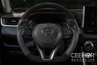 [細活方向盤] 麂皮牛皮款 RAV4 ALTIS CAMRY Corolla CROSS SPORT CC TOYOTA 豐田 變形蟲方向盤 方向盤 台灣製造 造型方向盤