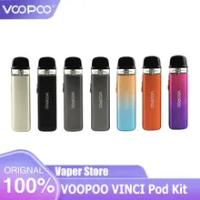 Original VOOPOO Vinci Pod ชุด Vape บุหรี่อิเล็กทรอนิกส์800MAh แบตเตอรี่2Ml ตลับหมึก0.8ohm Vape Mod GENE ชิปเซ็ต Vinci air