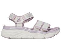 Skechers Max Cushioning Sandal [140424WLV] 女 涼鞋 休閒 舒適 增高 杏紫