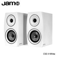 【JAMO】C93 II 書架型喇叭-白色(卡拉OK、 書架型喇叭)