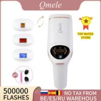 Qmele 4 In1เครื่องกำจัดขน IPL Body บิกินี่ Trimmer สำหรับผู้หญิงไฟฟ้า500000 Pulse LCD ถาวรเครื่องกำจัดขนด้วยเลเซอร์