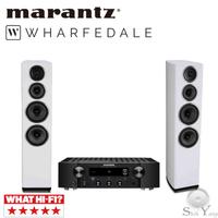 Marantz PM7000N 網路音樂串流綜合擴大機+ Wharfedale Diamond 11.4落地喇叭 公司貨
