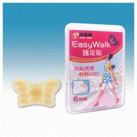 【全新生醫 IGIBAN 全新一級絆】人工皮護腳貼 6片 腳跟部位(EasyWalk)