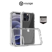 【VOYAGE】iPhone 13 Pro Max 6.7吋-超軍規防摔保護殼-純淨(Fusion Shock 科技抗摔吸震材質)