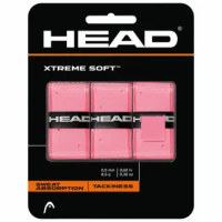 【HEAD】HEAD XTREMESOFT 外層握把布3卡入285104(網球拍/握把布)