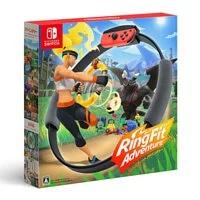 【Switch週邊】【線上奧運】【NS】健身環大冒險 RingFit《中文版》 (含健身環大冒險遊戲軟體、Ring-Con、腿部固定帶)