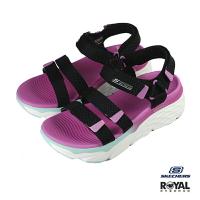 Skechers Max Cushioning 粉色 織布 運動涼鞋 女款 NO.J0339【新竹皇家 140120BKMT】
