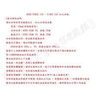 【LFM】KOSO 加大水箱 SMAX FORCE SMAX155 FORCE155 3D CARBON網紋設計