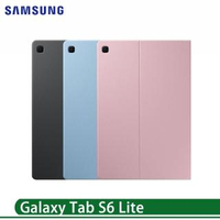 【SAMSUNG 三星】Galaxy Tab S6 Lite 原廠書本式皮套 P610 P615(送黑人專業護齦-抗敏感牙膏)