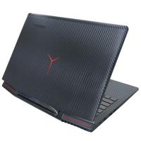 【Ezstick】Lenovo IdeaPad Y720 15 IKB 黑色立體紋機身貼(含上蓋貼、鍵盤週圍貼)