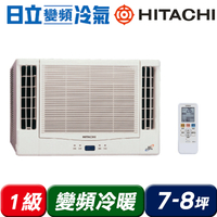 【HITACHI 日立】7-9坪變頻冷暖雙吹式窗型(RA-61NV/RA61NV)