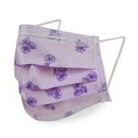 【GRANDE 格安德】拋棄式一般醫用平面口罩 蜀葵紫(醫療口罩)