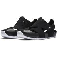【NIKE 耐吉】涼鞋 中童 兒童 喬丹 運動 JORDAN FLARE PS 黑 CI7849-001