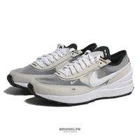 【滿千折百優惠開跑】NIKE 休閒鞋 WAFFLE ONE GS 白灰 小SACAI 大童鞋 女 (布魯克林) DC0481-100