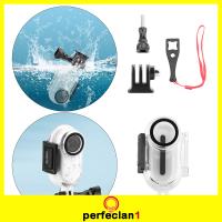 [PERFECLAN1] 用於Insta360 Go2動作相機的潛水保護盒,帶螺釘部件