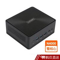 ECS精英 LIVA Z2V 雙核 迷你電腦 N4000/4GB/32GB/NOS 主機 桌上型電腦