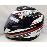 頭等大事安全帽 M2R XR-3 XR3(CARBON碳纖維) 白紅 卡夢 雙D扣 輕量 全可拆內襯 贈原廠電鍍片+免運