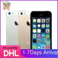 "EU Fast Ship iPhone 5S ปลดล็อก Apple IPhone5s 16GB 32GB 64GB ROM 8MP กล้อง IOS 4.0 ""IPS 8MP WIFI GPS 4G LTE โทรศัพท์มือถือ"
