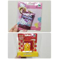 現貨 正版 三麗鷗 軟糖 糖果 HELLO KITTY 凱蒂貓 蛋黃哥 招財貓 限定款 3D 造型 造型卡 悠遊卡