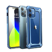 [9美國直購] SUPCASE Unicorn Beetle EXO 系列保護殼 for iPhone 12 / iPhone 12 Pro (6.1吋) 藍/黑/紫 三色