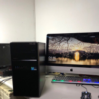 二手電腦asus吃雞 gta5 lol 全開主機,四代i5.rx570 4g 遊戲超順